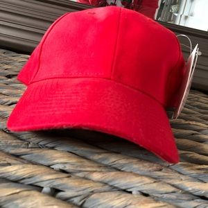Red American Apparel Bayside Baseball Cap
